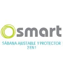 Sábana Ajustable  y Protector 2en1